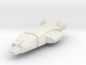 2700 CC-7700 Interdictor frigate Star Wars in White Natural Versatile Plastic