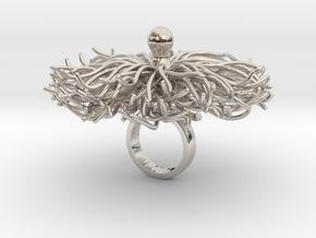 Briksbi - Bjou Designs in Rhodium Plated Brass