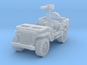 Jeep Willys 30 cal (window down) 1/160 in Smooth Fine Detail Plastic