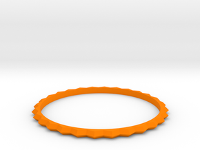 [1DAY_1CAD] BRACELET_type1 in Orange Processed Versatile Plastic
