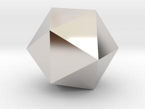 Icosahedron-Tri in Platinum