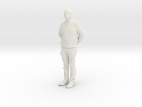 Printle C Homme 876 - 1/24 - wob in White Natural Versatile Plastic