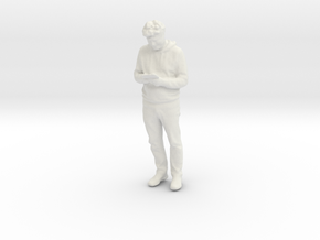 Printle C Homme 878 - 1/24 - wob in White Natural Versatile Plastic