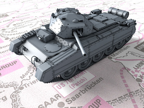 1/120 (TT) British Crusader Mk III Medium Tank in Smooth Fine Detail Plastic
