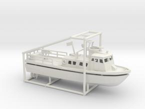 1/200 PCF Swift Boat in White Natural Versatile Plastic
