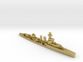 HMS Curlew 1939 1:2400 WW2 cruiser in Natural Brass