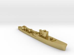 Italian Orsa WW2 torpedo boat 1:2400 in Natural Brass