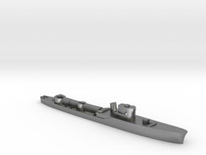 Italian Orione WW2 torpedo boat 1:3000 in Natural Silver