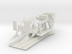 1:144 Pegasus Bridge D-Day 75th Anniversary in White Natural Versatile Plastic