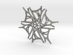 :Nature Dance V: Pendant in Natural Silver