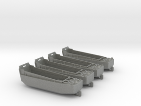 1/400 Scale LCVP Set Of 4 in Gray PA12