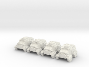 Taurox  in White Natural Versatile Plastic