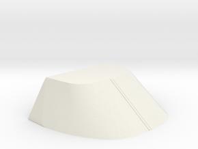 Churchill FANTAIL LANDING BAY DOORS in White Natural Versatile Plastic
