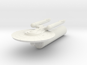 3125 Scale Federation LTT with Carrier Pod WEM in White Natural Versatile Plastic
