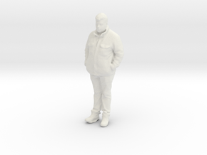 Printle C Homme 887 - 1/24 - wob in White Natural Versatile Plastic