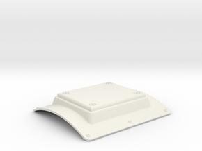 EC135 Altimeter tail boom 1/4 in White Natural Versatile Plastic