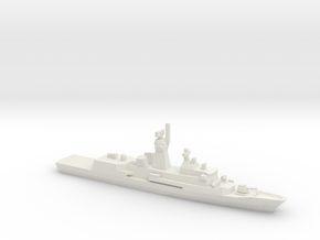 Anzac-class frigate, 1/1250 in White Natural Versatile Plastic
