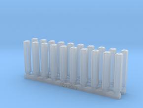 Bolt Rifle Suppressors Angular v2 x20 in Smoothest Fine Detail Plastic