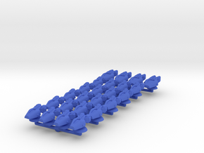 Lambda Battle Group 1 in Blue Processed Versatile Plastic