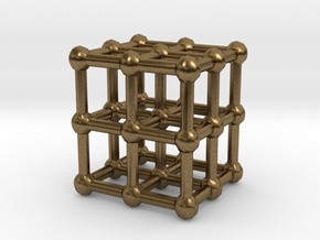 cube matrix in Natural Bronze