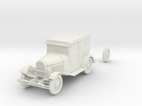 PV03 Model A Tudor (28mm) in White Natural Versatile Plastic