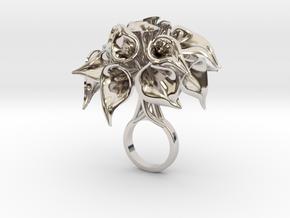 Wetroco - Bjou Design in Rhodium Plated Brass