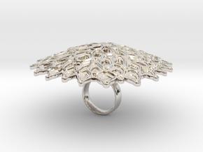 Dulcino - Bjou Designs in Rhodium Plated Brass