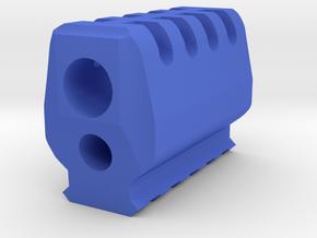 J.W. Compensator for P30 Airsoft Spring Pistol in Blue Processed Versatile Plastic