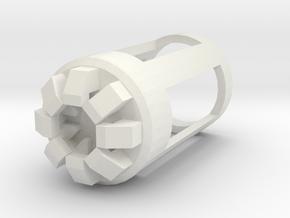 Blade Plug - Rift in White Natural Versatile Plastic