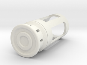 Blade Plug - Sector in White Natural Versatile Plastic