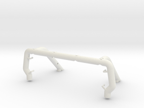 058025-01 Tamiya Blackfoot Ford F150 Scale Rollbar in White Natural Versatile Plastic
