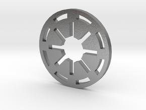 Galactic Republic Symbol in Natural Silver