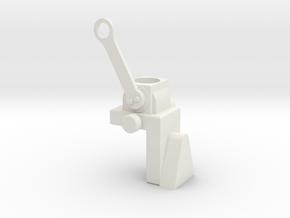 Translation Support Bracket in White Natural Versatile Plastic