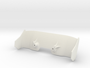 McLaren - Sharky in White Natural Versatile Plastic