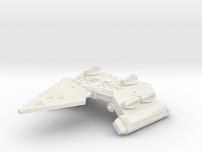 3125 Scale Neo-Tholian Space Control Ship SRZ in White Natural Versatile Plastic