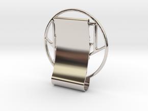 RCS_MoneyClip in Platinum