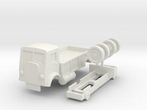 Horrid Lorry V2 in White Natural Versatile Plastic