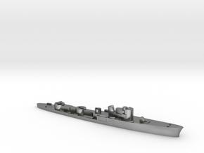 Italian Ciclone WW2 torpedo boat 1:2400 in Natural Silver