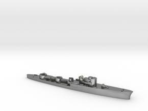 Italian Ciclone WW2 torpedo boat 1:3000 in Natural Silver