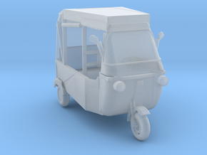 S Scale Modern Rickshaw in Smooth Fine Detail Plastic