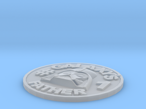 Galaxy's #1 Father Memorial Coin Father's Day Gift in Smooth Fine Detail Plastic
