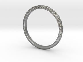 Forged Ring 1.8mm in Natural Silver: 5 / 49