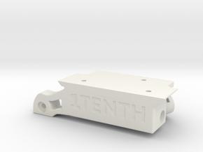 V1.3 Traxxas Portal SOA 4 Link w Axial holes in White Natural Versatile Plastic