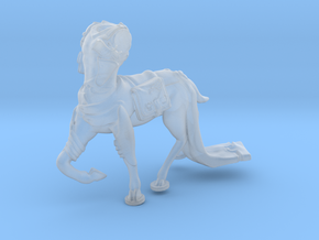 Anthropomorphic male light armor deer taur 1 (HSD  in Smooth Fine Detail Plastic