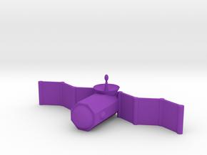 [1DAY_1CAD] SATELLITE in Purple Processed Versatile Plastic
