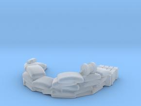Sandbag Emplacement 1/220 in Smooth Fine Detail Plastic