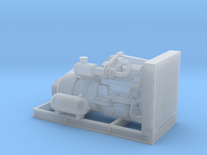 1/87th Engine For Thunderbird swing yarder in Smooth Fine Detail Plastic