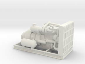 1/64th Engine for Thunderbird Swing Yarder in White Natural Versatile Plastic