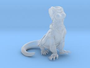 Anthropomorphic female light armor lizard taur 1(H in Smooth Fine Detail Plastic