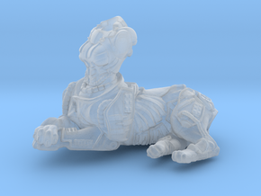 Anthropomorphic female heavy armor cat taur 2(HSD  in Smooth Fine Detail Plastic